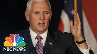 Mike Pence Mocks Oprah Winfrey On Stump For Brian Kemp: 'This Ain't Hollywood' | NBC News