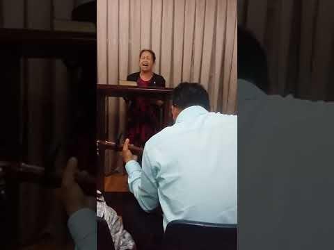 Pastor's wife sing@bagatayam sogod cebu