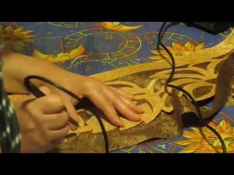 Фигурный ламбрекен своими руками