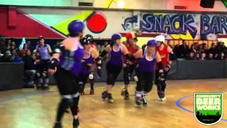 The Alley Kats vs. The Suicidal Saucies (1st half) | Queen City Roller Girls
