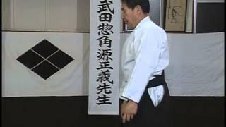 ч9-1 защита стоя от захвата двух рук Дайторю #айкидзюдзюцу айкидо #Уэсиба Морихеи #aikido