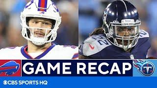 Bills vs Titans: Derrick Henry dominates, Titans stop Josh Allen on 4th down | CBS Sports HQ screenshot 4
