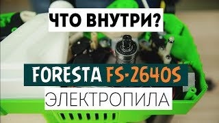 Обзор электропилы Foresta FS-2640S - Что внутри?