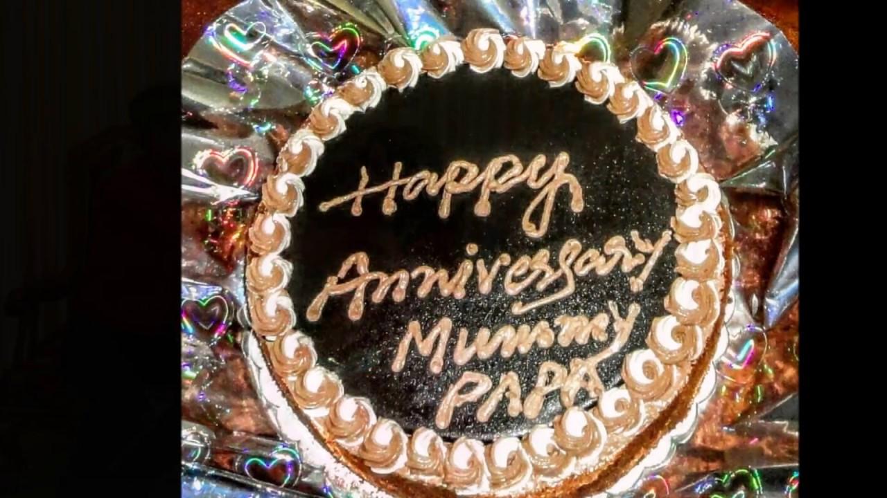 Happy Anniversary Mom Dad Youtube