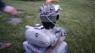 Junak M10 - naprawa silnika S03 po słabych fachowcach