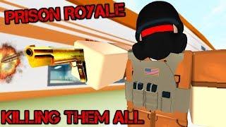 Prison Royale! *TRICK SHOTS* | ROBLOX
