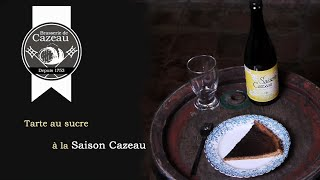 Saison Cazeau - Recette De La Tarte Au Sucre à La Saison Cazeau