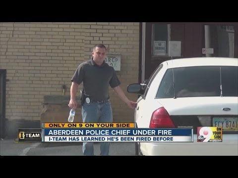 I-Team: Aberdeen top cop has been fired before