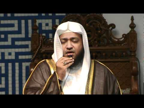 Qari Saad Nomani in New York { different style of reciting the Quran }