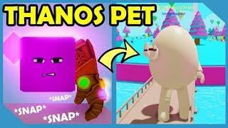 I Got The Legendary Thanos Pet In Roblox Egg Simulator