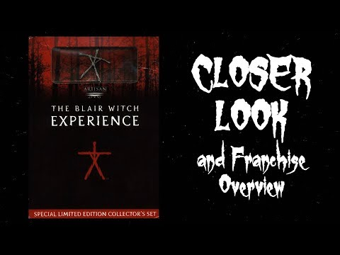 Closer Look - Blair Witch Experience DVD/Game Boxset and Franchise Overview