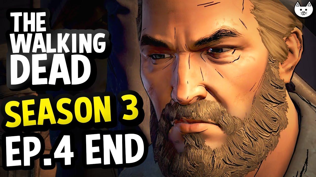 how to get best ending walking dead season 3