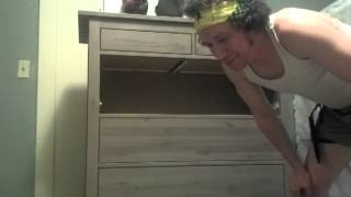 "How To Be A Man And Build A Dresser From ""scratch"" Part 14"