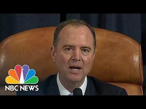 Adam Schiff Denies Knowing Identity Of Whistleblower | NBC News