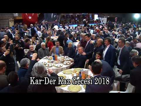 Kars -Ardahan -Iğdır  KAR-DER'İN  düzenlediği yöresel Kaz gecesi (18.02.2018 )