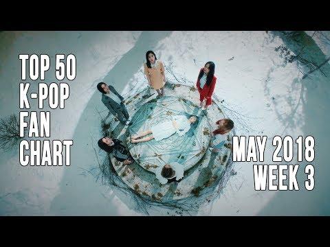 Top 50 K-Pop Songs Chart - May 2018 Week 3 Fan Chart