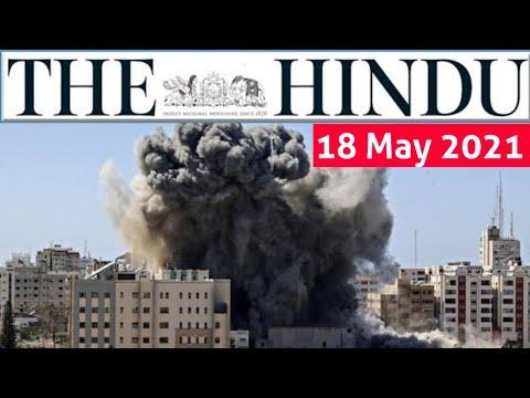 18 May 2021 | The Hindu Newspaper Analysis | Current Affairs 2021 #UPSC #IAS Editorial Analysis