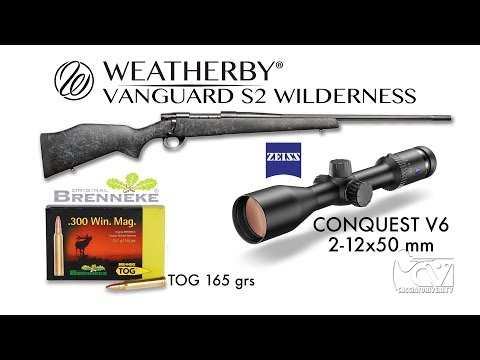 Test a caccia: Weatherby Vanguard S2 Wilderness - Zeiss Conquest V6 - Brenneke Tog