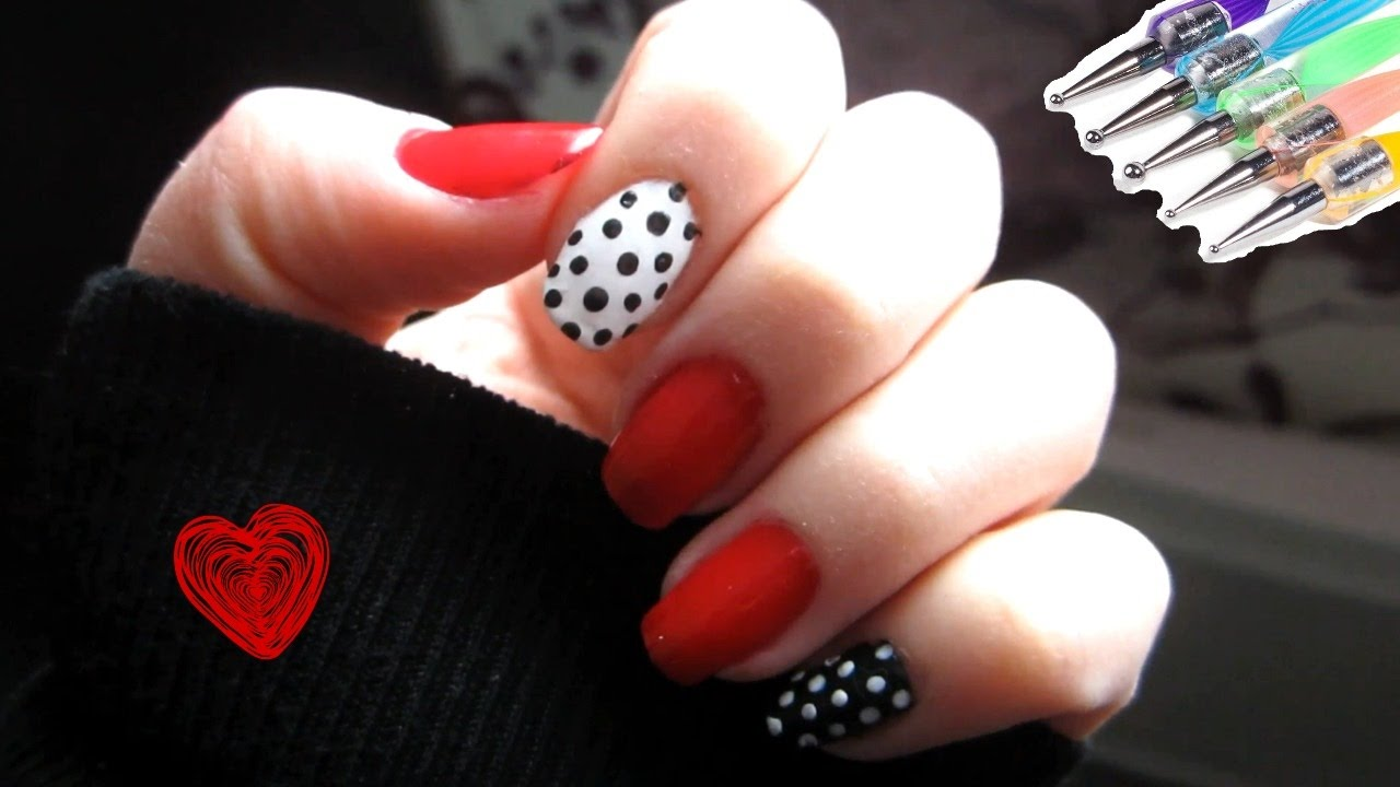 Nail art simple d butant youtube - Nail art debutant ...