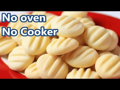 Homemade Butter Cookies Recipe | Butter Cookies Without Oven #piyaskitchen