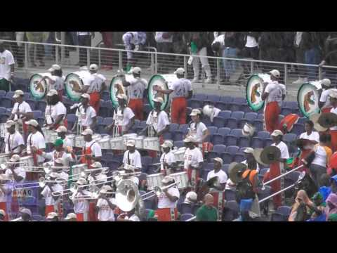 FAMU Marching 100 in the stands  - Battle in the Stands