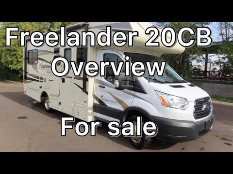 2018 Coachmen Freelander 20cb Ford Transit 350hd class c motorhome