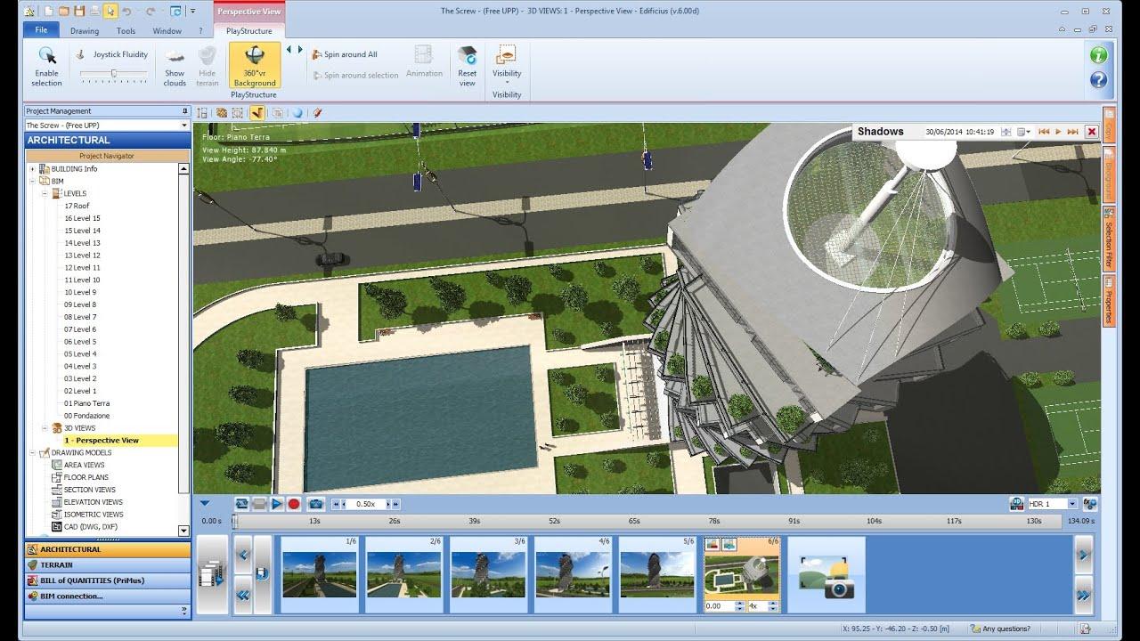 Software progettazione architettonica bim edificius acca software youtube - Software progettazione casa gratis ...