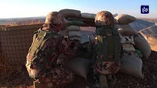 """الجيش يقصف عناصر تابعة لـ """"داعش الإرهابي"""" ويقتل بعض عناصره"""