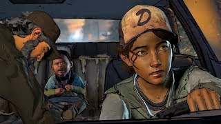 Kenny Dies After Car Crash: Clementine Flashback  (Walking Dead | Death | Telltale Games)