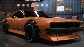 Need For Speed: Payback - Dodge Charger R/T - Customize | Tuning Car (PC HD) [1080p60FPS]