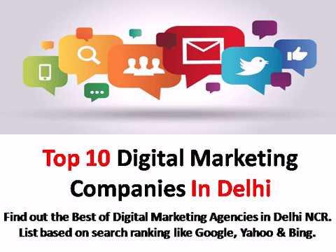 Top 10 Digital Marketing Companies In Delhi NCR
