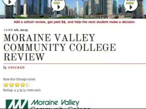 Moraine Valley Community College - Chicago School Review