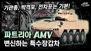 """변신하는 특수장갑차 """"파트리아 AMV""""…"""