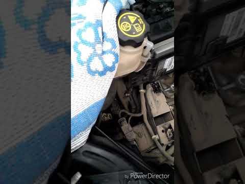 Замена левой опоры двигателя на Шеви Соник-Авео 1.6л.2012-2015г.