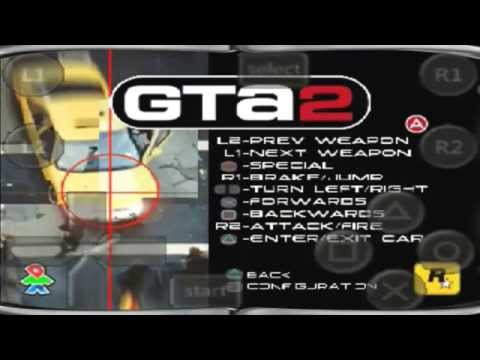 GTA 2 - Running Game On Phone GT-S5300B In Android 2.3.6 With FPse