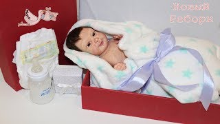 распаковка силиконового реборна /Full body silicone baby box opening