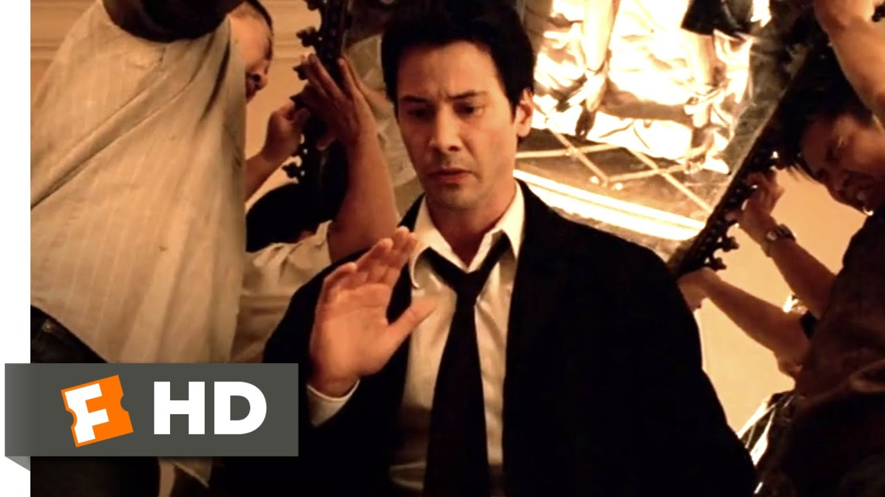 Download Constantine (2005) - Soldier Demon Exorcism Scene (1/9) | Movieclips