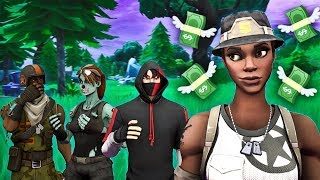 I try to come into a REICHEN OG SKINS CLAN with RECON EXPERT they wanted MONEY.. (Fortnite)