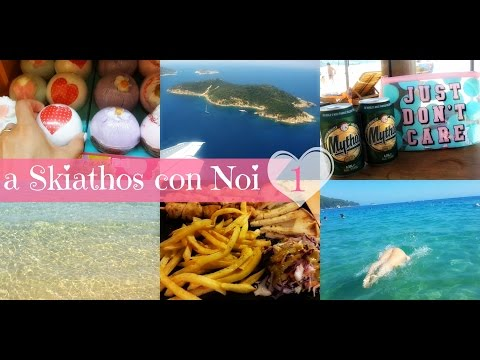 A SKIATHOS CON NOI ❤ Si parte, Koukounaries e Banana Beach ♡♡ Parte 1