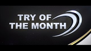 Sky Sports GUINNESS PRO12 Try of the Month - October 2015