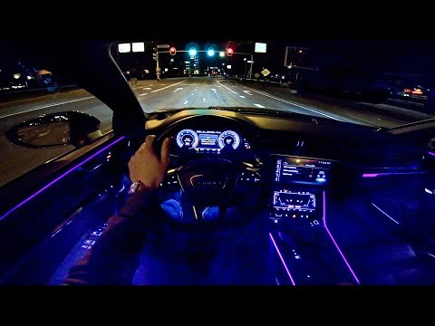 2019 AUDI A7 Sportback | NIGHT Drive POV | AMBIENT Lighting by AutoTopNL