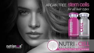 Ботокс для волос NUTRICELL 1 технология Регенерация клетками дерева арганы BIO Fix Nanokeratin