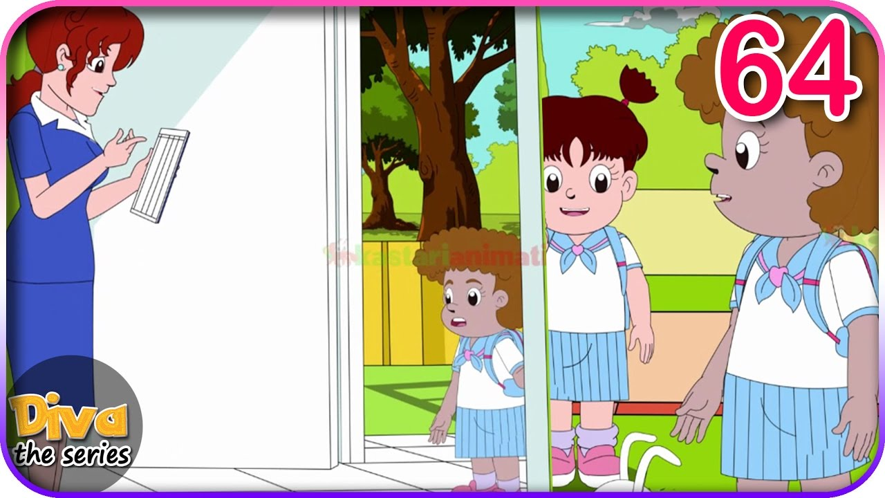 8700 Gambar Anak Terlambat Sekolah Kartun HD
