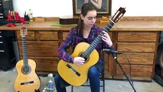 Clara Mclain Performs Scarlatti K.322 on a 2005 Ignacio Rozas 1A