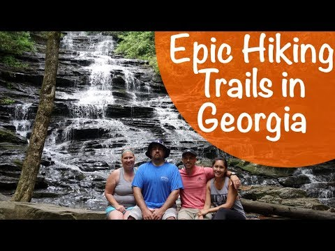 HIKING TRAILS WITH WATERFALLS IN GEORGIA