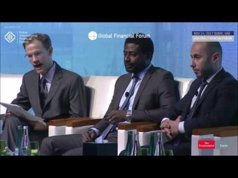 Houssam Nasrawin during the Global Financial Forum in Dubai by DIFC