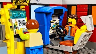 LEGO Arcade Game - Shark Attack STOP MOTION LEGO City Shark Attack Fail | LEGO City | Billy Bricks