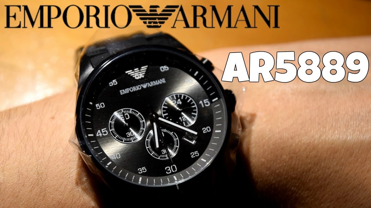 run shoes better speical offer Emporio Armani AR5889 Unboxing