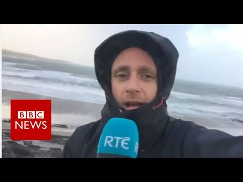 Hurricane Ophelia: Thousands lose power as storm hits Ireland - BBC News