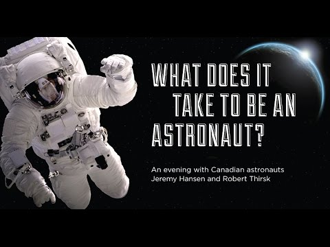 What does it take to be an astronaut?